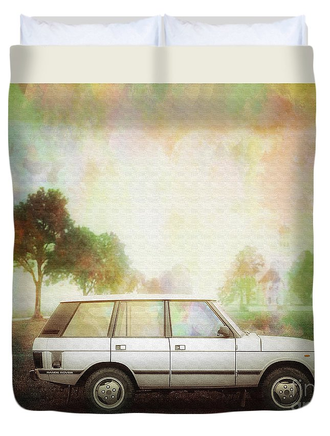 Digital Art Duvet Cover featuring the photograph Joys Of Refined Motoring by Edmund Nagele
