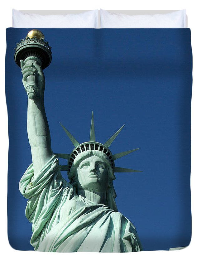 Duvet Cover featuring the photograph July 4 1776 by Mark Milar