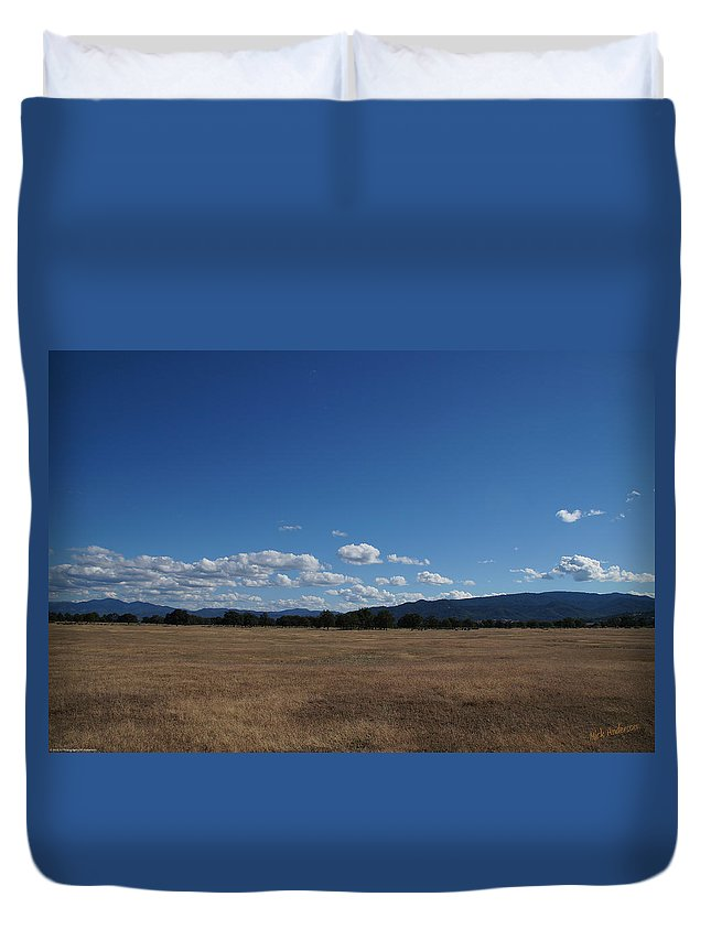 June Duvet Cover featuring the photograph June Near Central Point In Sourthern Oregon by Mick Anderson