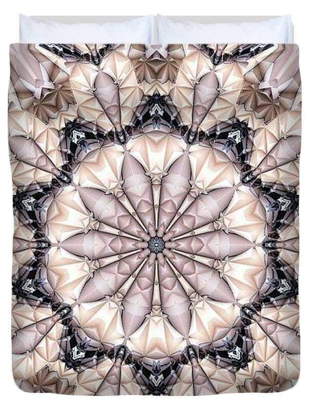 Kaleidoscope Duvet Cover featuring the photograph Kaleidoscope 21 by Ron Bissett