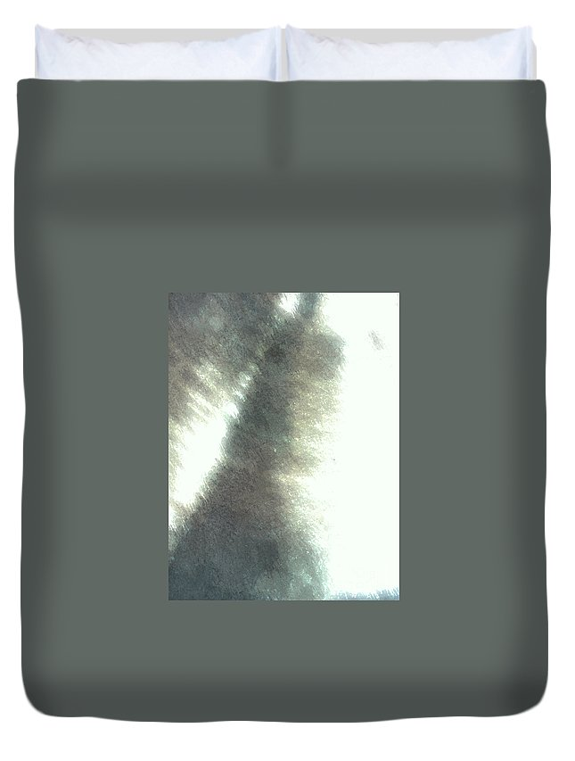 Digital Photography Duvet Cover featuring the digital art Kama by Fei A