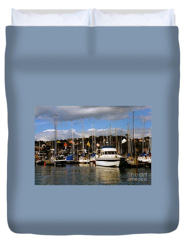 Kinsale Duvet Cover featuring the photograph Kinsale Yacht Club by William Norton