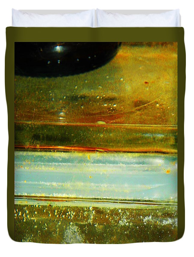 Abstract Duvet Cover featuring the photograph Kitchen Abstract by Lenore Senior