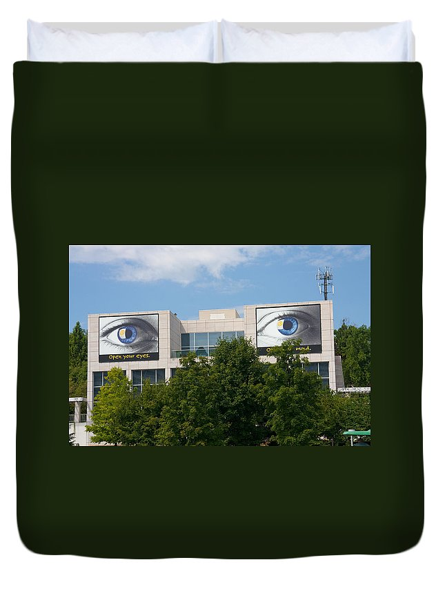 Knoxville Art Museum Duvet Cover featuring the photograph Knoxville Art Museum by Melinda Fawver