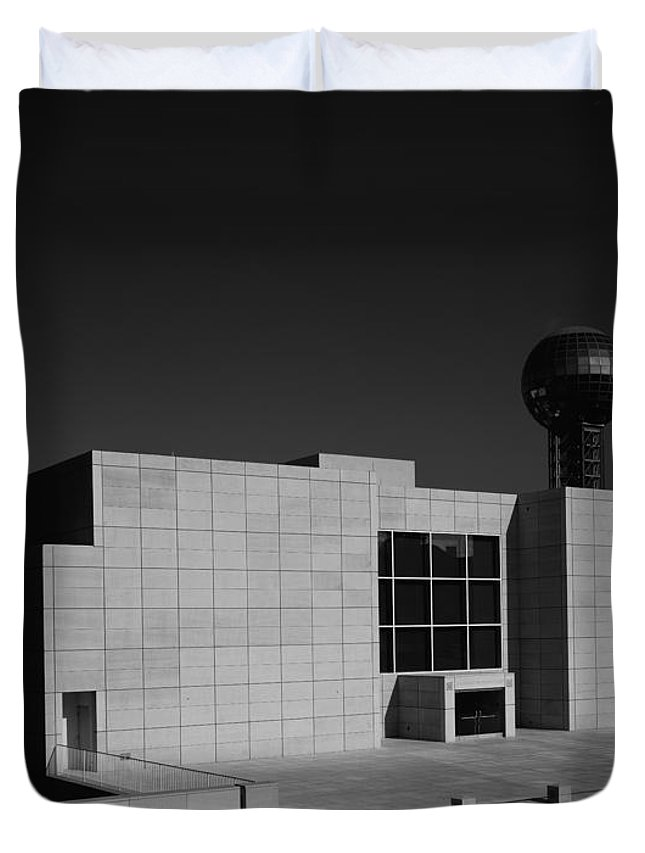 Knoxville Duvet Cover featuring the photograph Knoxville Museum Of Art by Mountain Dreams