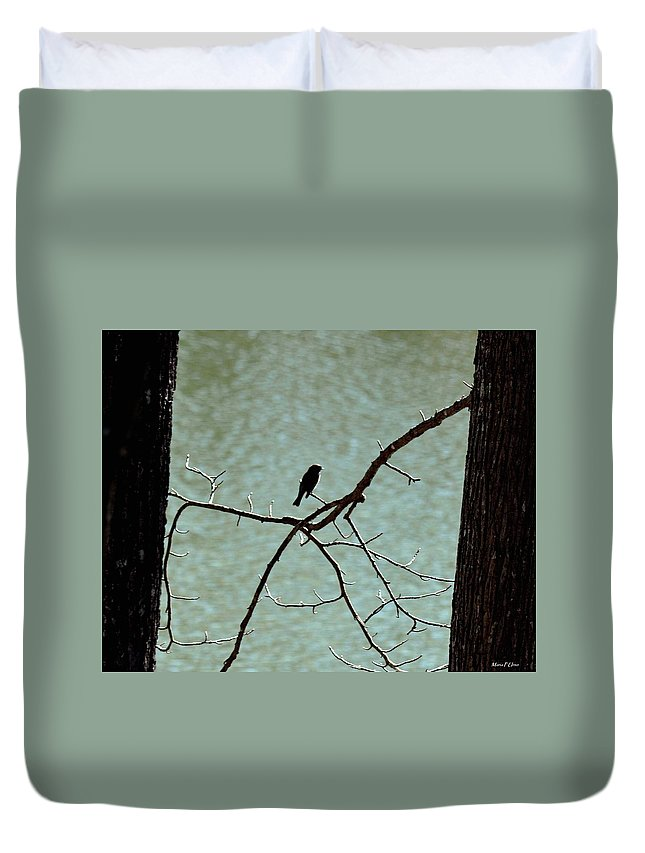Lake Song Duvet Cover featuring the photograph Lake Song by Maria Urso
