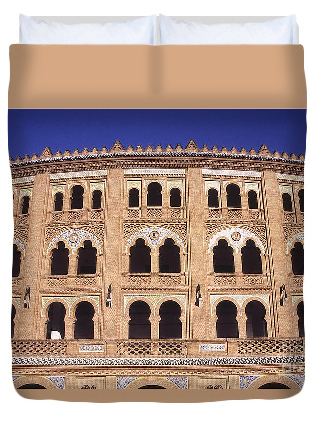 Spain Duvet Cover featuring the photograph Las Ventas Bullring Madrid by James Brunker