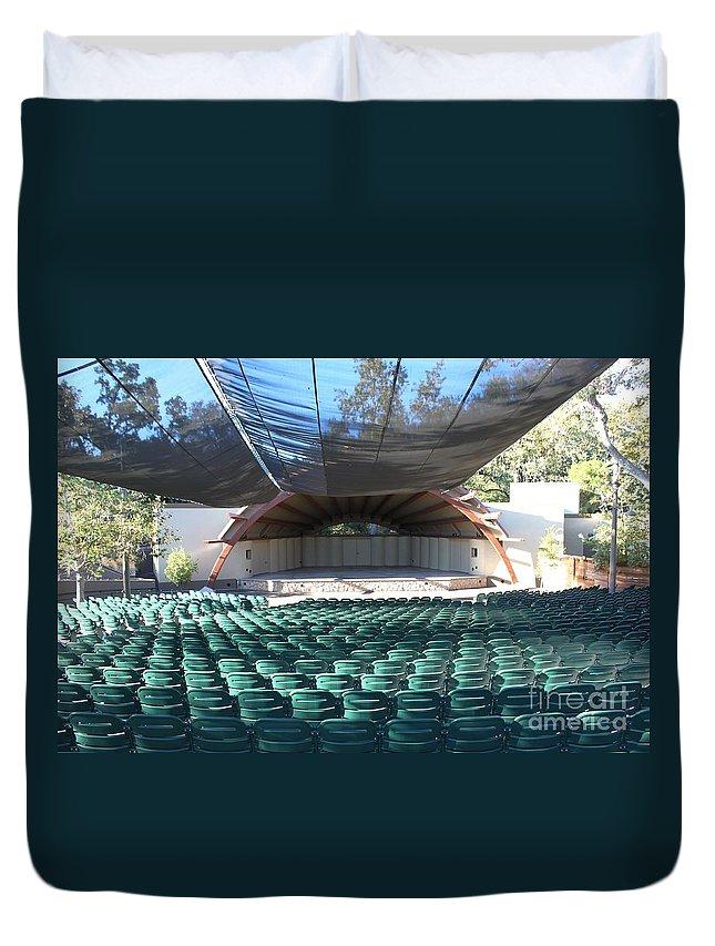 Libbey Duvet Cover featuring the photograph Libbey Bowl Ojai by Henrik Lehnerer