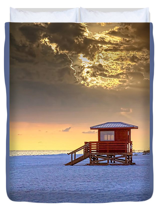 Guard Tower Duvet Covers