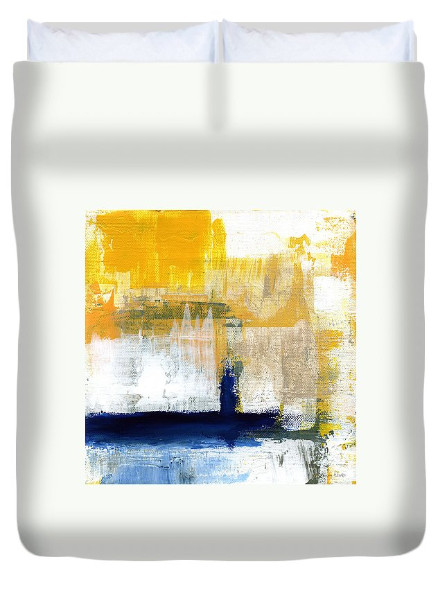 Abstract Landscape Duvet Covers