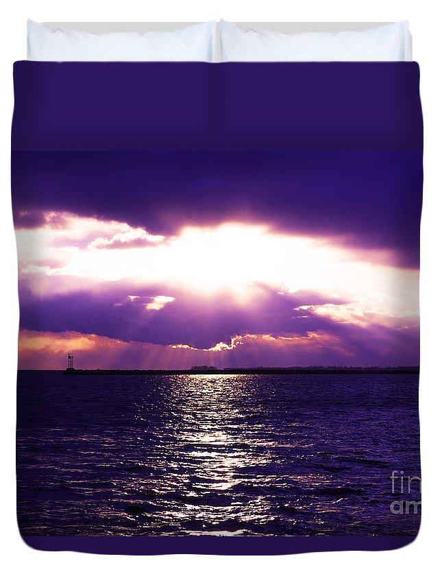 Sun Duvet Cover featuring the photograph Light Therapy by Joe Geraci