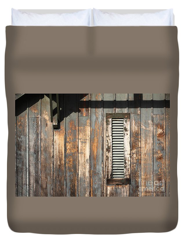 Abstract Duvet Cover featuring the photograph Lines And Designs by Todd Blanchard