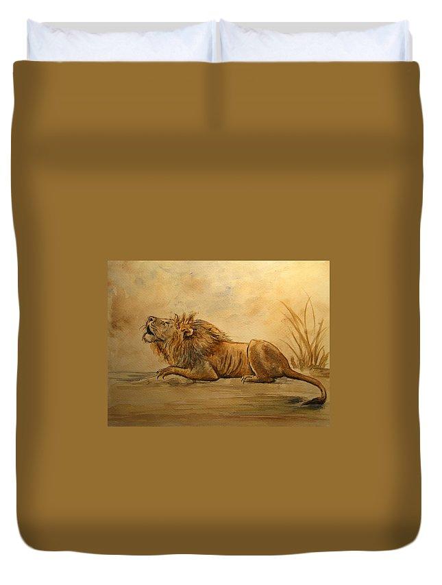 Watercolor Pet Portraits Duvet Covers
