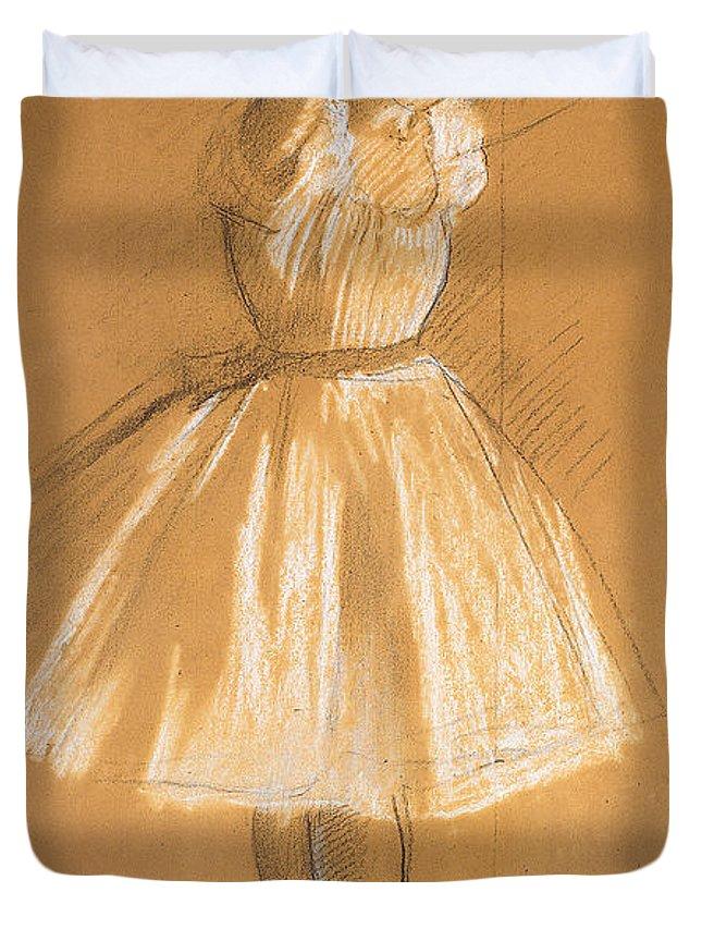 Dancer Drawings Duvet Covers