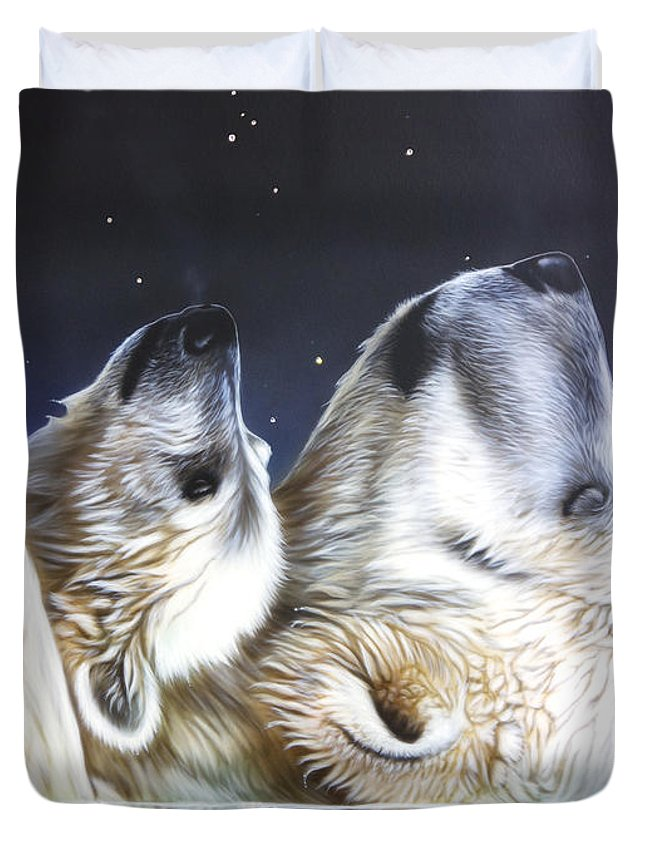 Arctic Wolf Duvet Covers