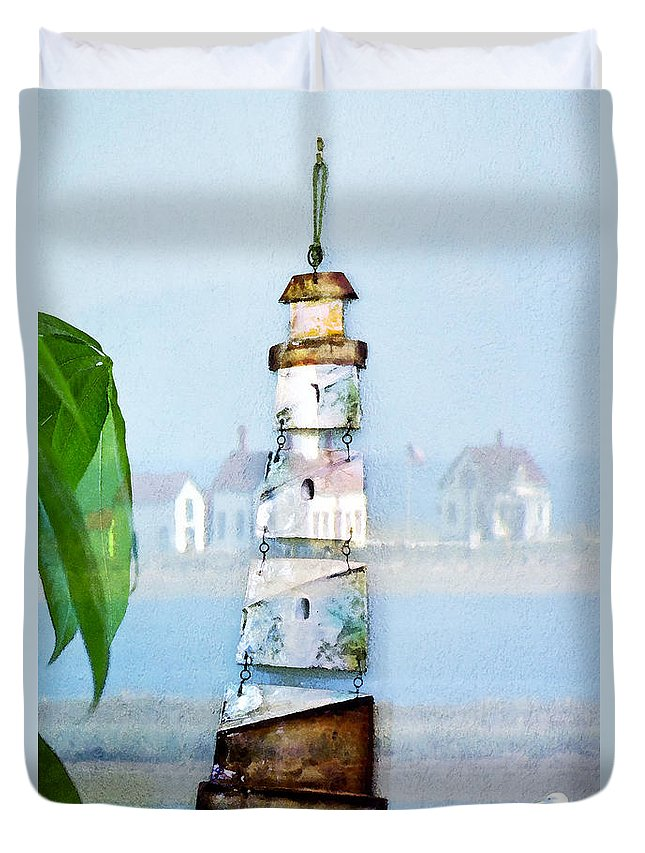 Sea Duvet Cover featuring the photograph Living By The Sea - Pacific Ocean by Marie Jamieson