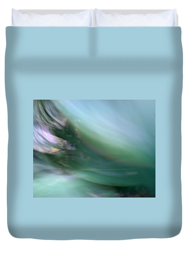 Lashes Duvet Cover featuring the photograph Long Black Lashes by Munir Alawi