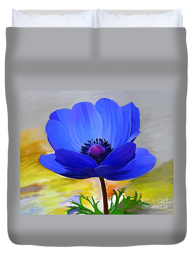 Fine Art Duvet Cover featuring the painting Lord Lieutenant by Patricia Griffin Brett