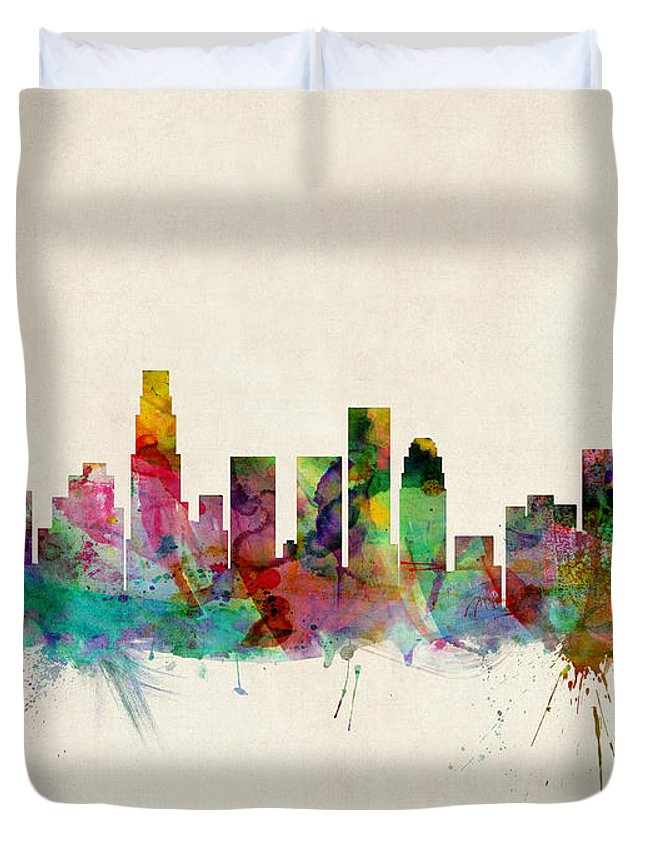 Los Angeles Skyline Duvet Covers