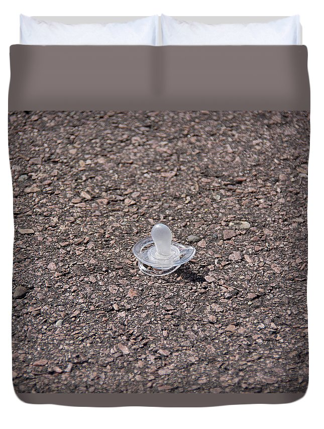 South Dakota Duvet Cover featuring the photograph Lost by M Dale