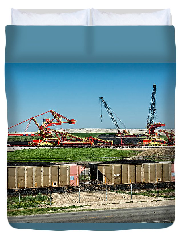 Nola Duvet Cover featuring the photograph Louisiana Giants by Steve Harrington