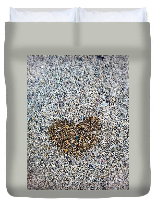 Love Is Everywhere Duvet Cover featuring the photograph Love Is Everywhere by Jessica Tolemy