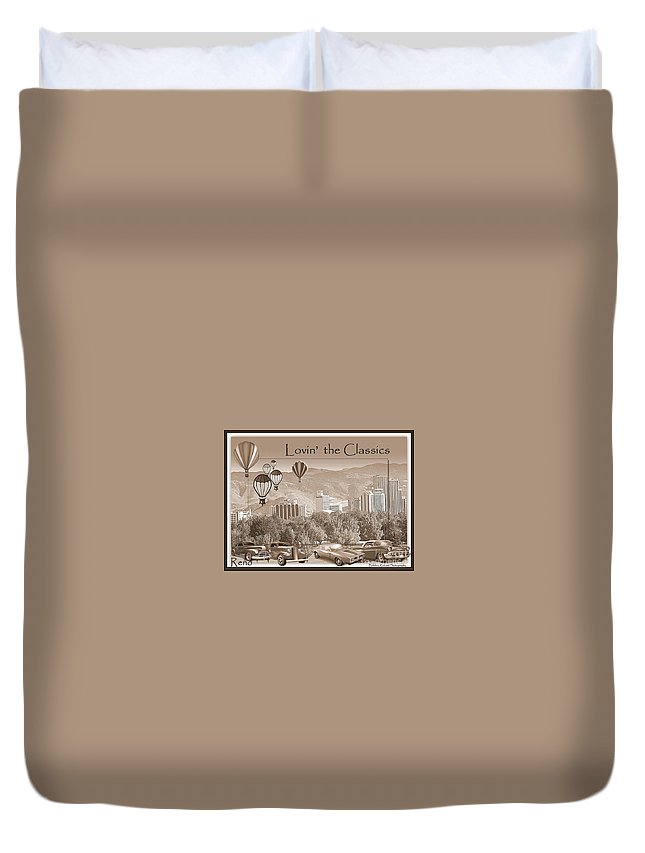 Acrylic Prints Duvet Cover featuring the photograph Lovin The Classics II by Bobbee Rickard