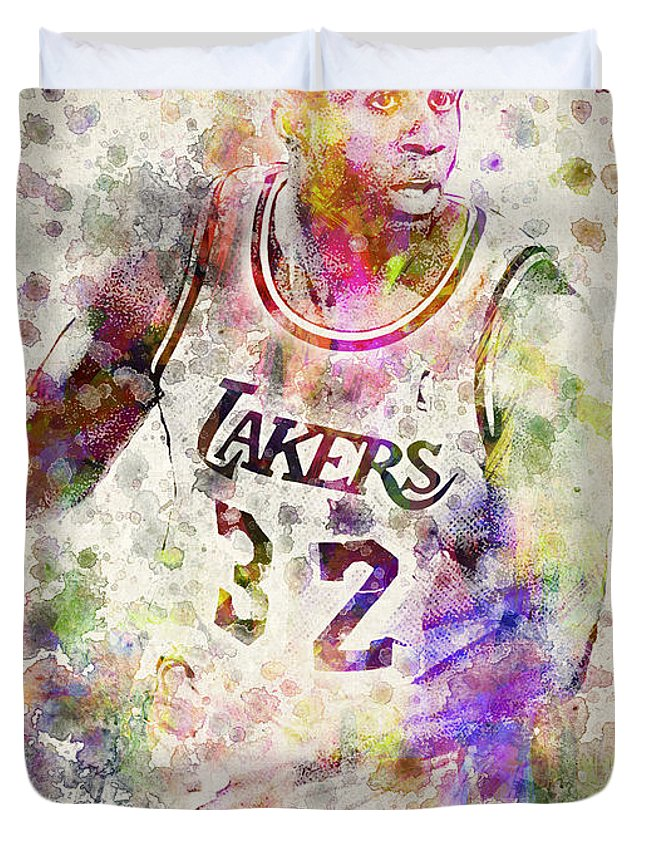 Magic Johnson Duvet Covers