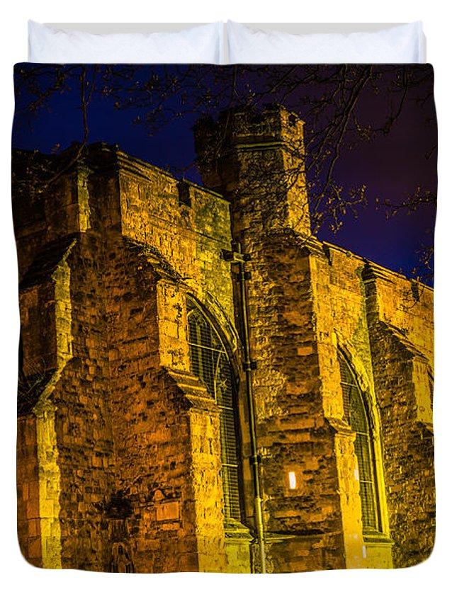 Maidstone Church Duvet Cover featuring the photograph Maidstone Church by Dawn OConnor