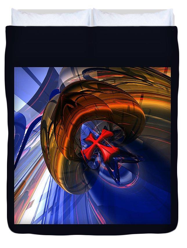 Christian Duvet Cover featuring the digital art Malt C 16 by Zac AlleyWalker Lowing