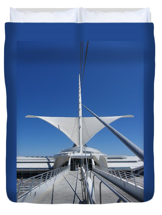Mam Duvet Cover featuring the photograph Mam From Bridge 3 by Anita Burgermeister