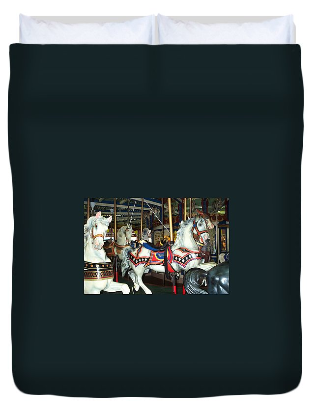 Marie Duvet Cover featuring the photograph Marie by Barbara McDevitt