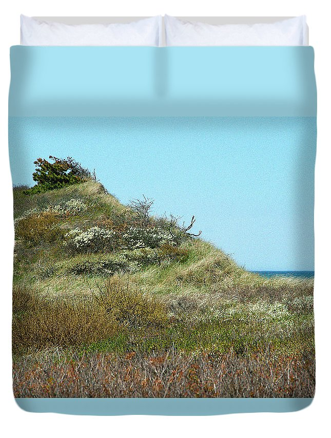 Cape Duvet Cover featuring the photograph May Cape by Robert DeFosses