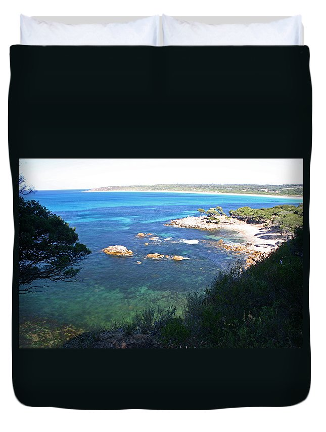 Shelley Duvet Cover featuring the photograph Memory by Fraser McCulloch
