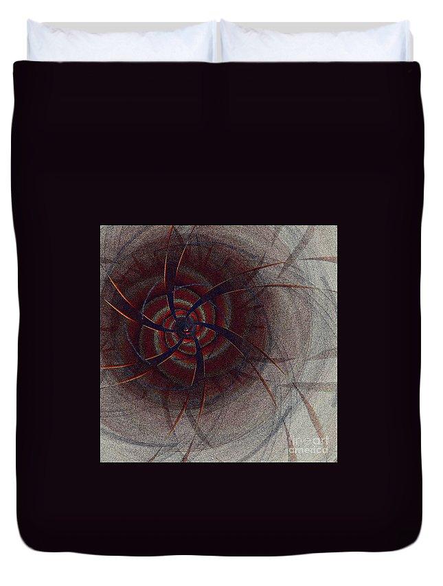 First Star Art Duvet Cover featuring the digital art Mesmer By Jammer by First Star Art