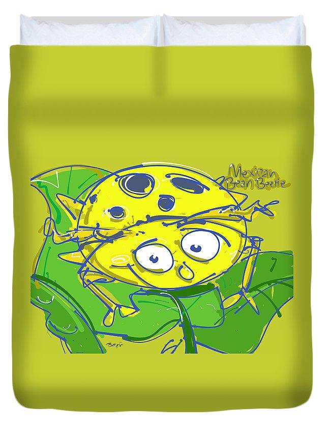 Mexican Bean Beetle Duvet Covers