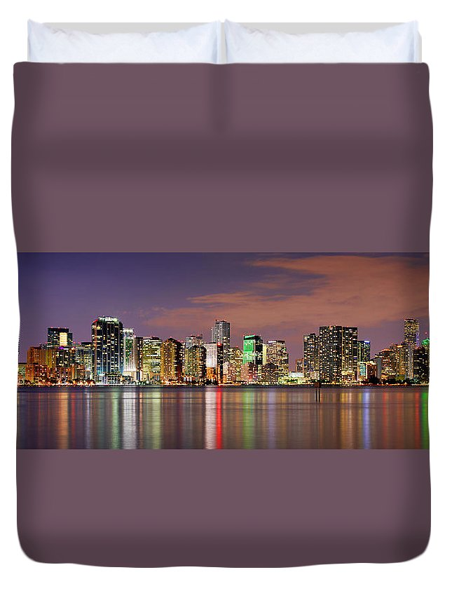 Miami Skyline Duvet Covers