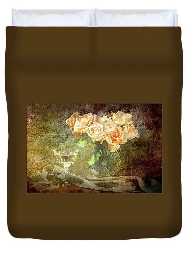 Still Life Duvet Cover featuring the photograph After Midnight by Diana Angstadt