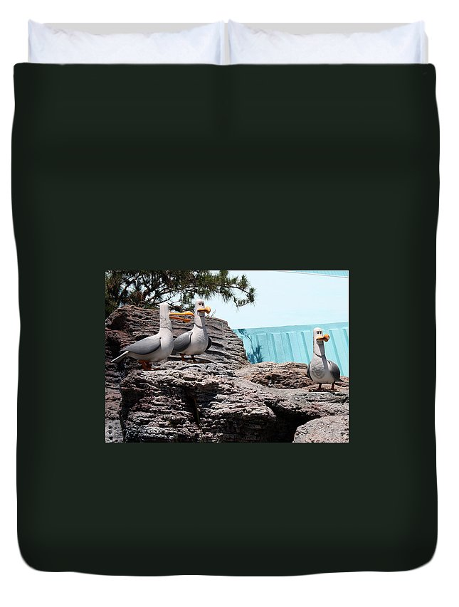 Disney Duvet Cover featuring the photograph Mine by David Nicholls