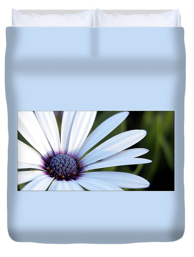 Spring Duvet Cover featuring the photograph Mission Flower 4480 by Jerry Sodorff