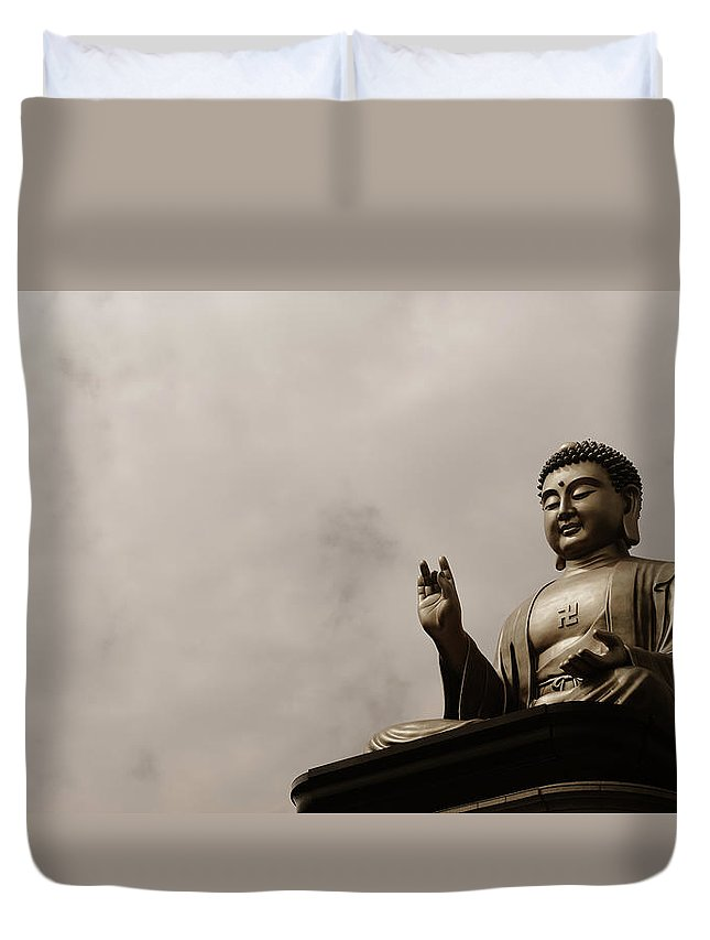 Tranquility Duvet Cover featuring the photograph Monument by Welcome To Buy My Photos