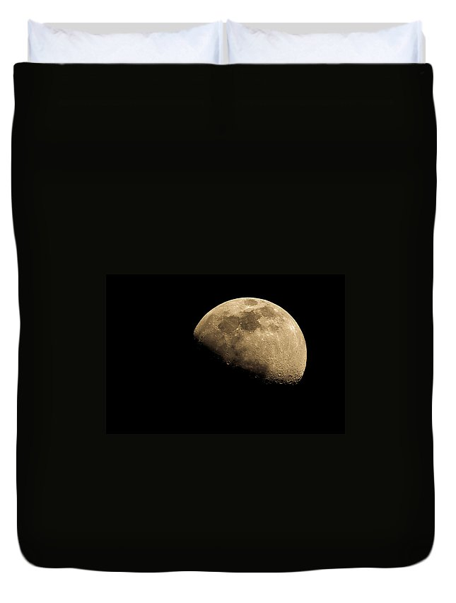 Lunar Duvet Cover featuring the photograph Moonlight Sonata by Andrea Mazzocchetti