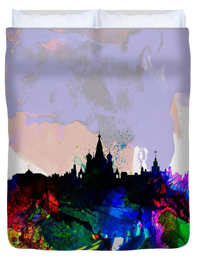Moscow Skyline Duvet Covers
