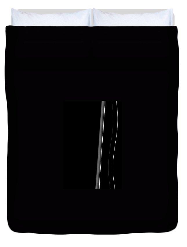 Moveonart! minimalexpression Digital Abstract Art By Artist Jacob Kane Kanduch -- Omnetra -- At Moveonart! Usa Duvet Cover featuring the digital art Moveonart Minimalexpression by Jacob Kanduch