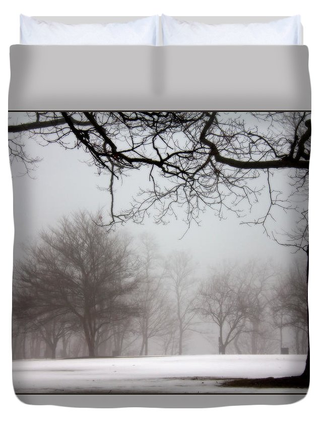 Mr Misty Duvet Cover featuring the photograph Mr Misty by Ed Smith