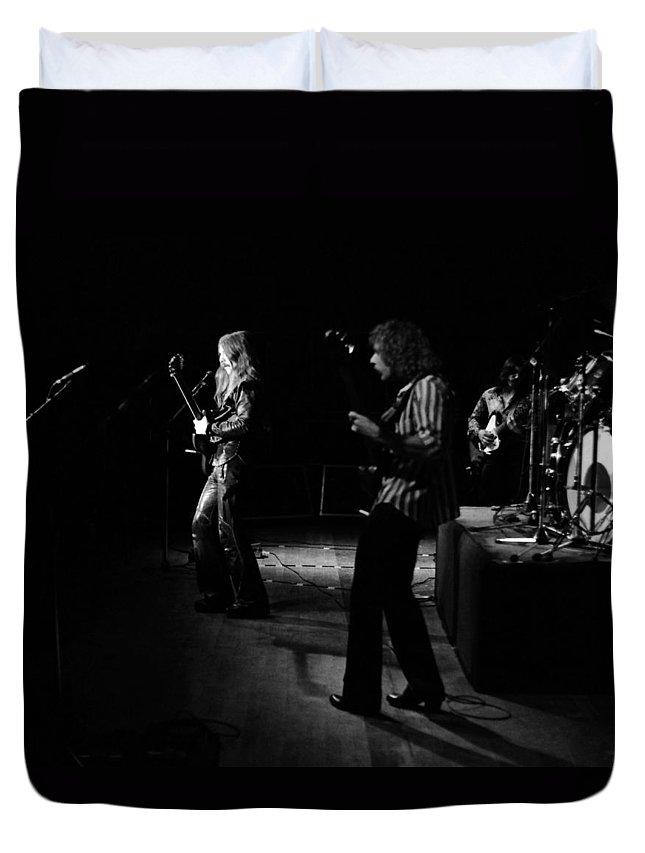 Mahogany Rush Duvet Cover featuring the photograph Mrush #9 by Ben Upham