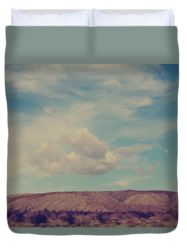 Palm Desert Duvet Cover featuring the photograph My Angel by Laurie Search