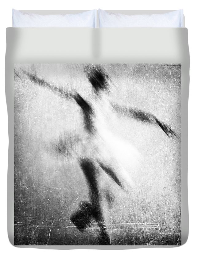 Dance Duvet Cover featuring the photograph My Hand In Dance by The Artist Project