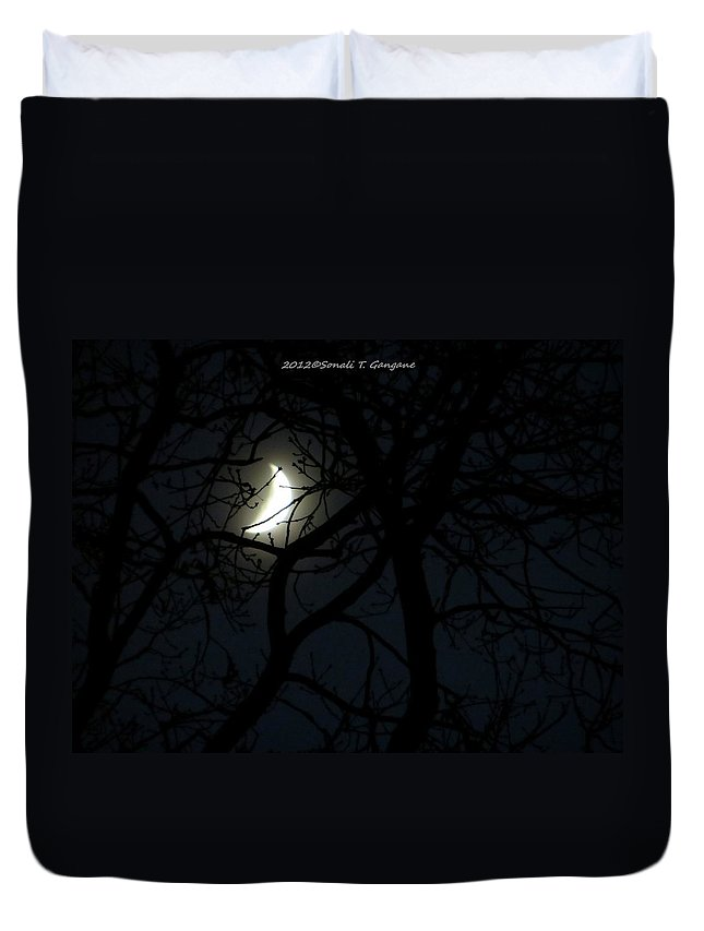 Celestial Neighbour Duvet Cover featuring the photograph Mystery by Sonali Gangane