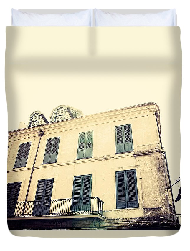 Napoleon Bonaparte Duvet Cover featuring the photograph Napolean House by Erin Johnson